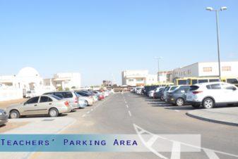 Teachers' Parking Area
