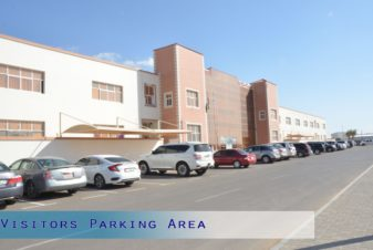 Visitor's Parking Area