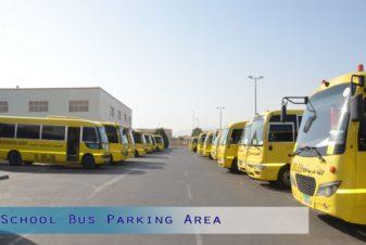 School Bus Parking Area