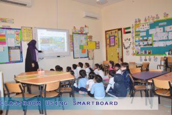 Classroom using Smartboard