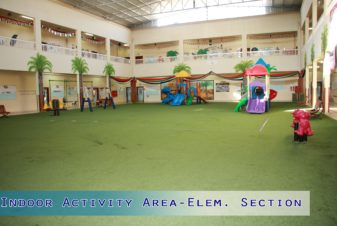 Indoor Activity Area-Elementary Section