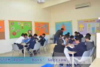 STEM Room - Boys Section