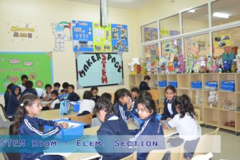 STEM Rooms - Elementary Section