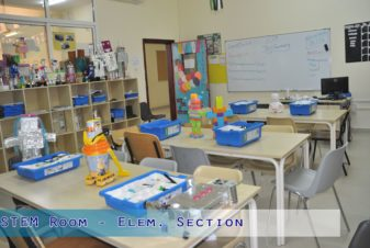 STEM Room - Elementary Section